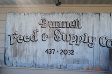 Bunnell Feed Rustic Sign.JPG